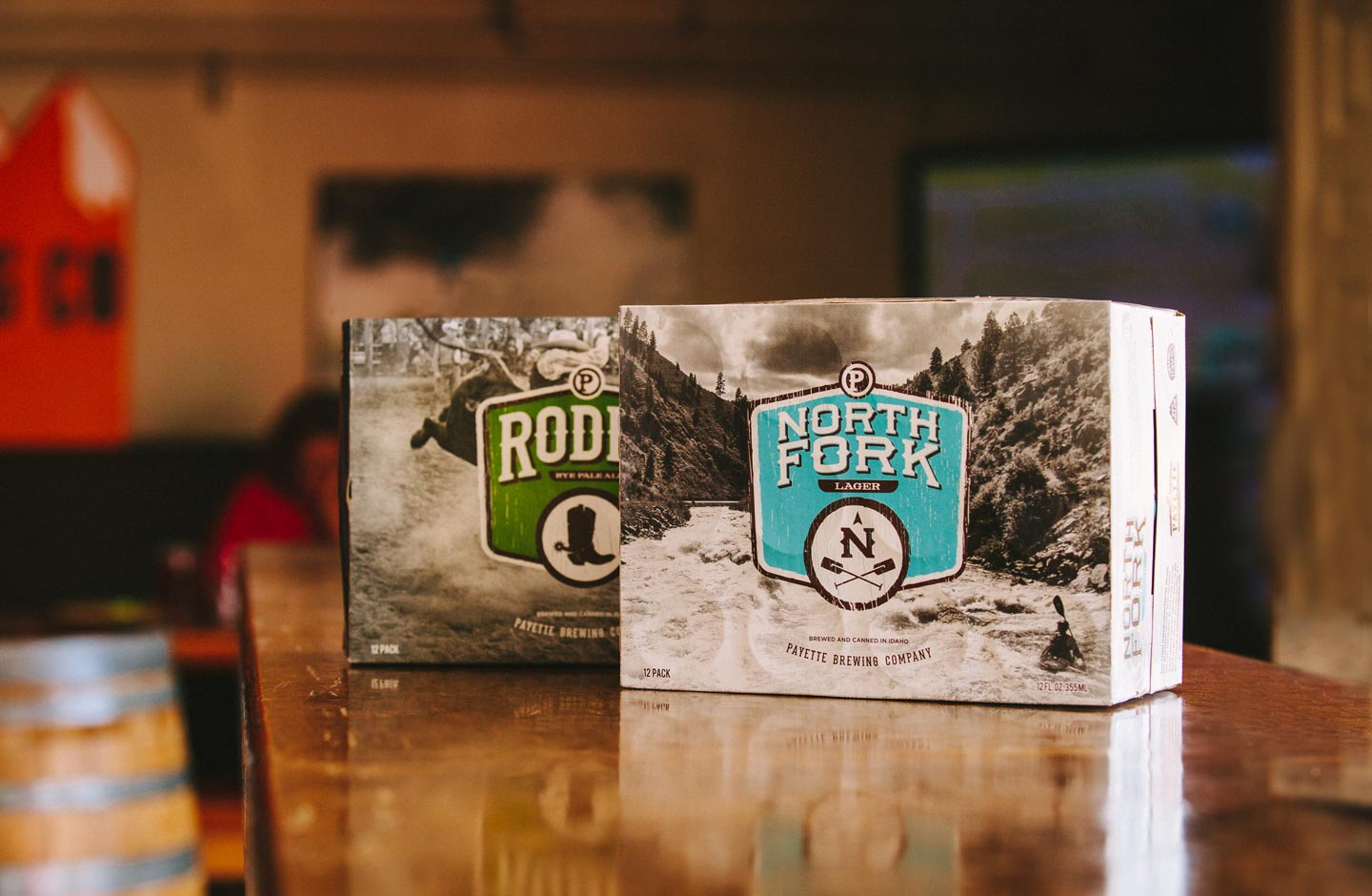 Payette Rodeo and North Fork 12 pack boxes